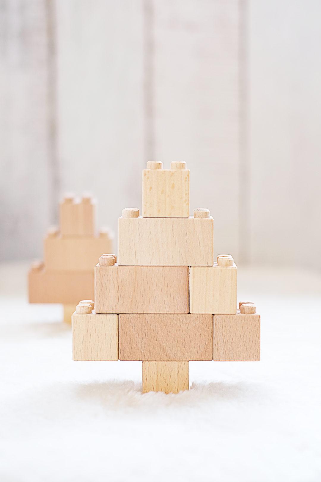 DIYnachten Türchen 23 bena Holzbausteine vorgestellt von Gingered Things