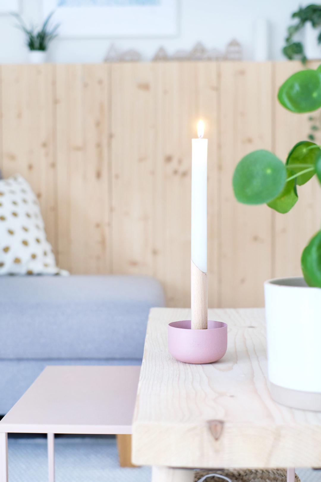 DIYnachten, Türchen 5, Gingered Things Kerzenständer mit Conmetall Meister
